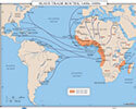 Slave Trade Routes, 1400's-1800's