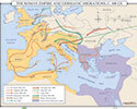 The Roman Empire & Germanic Migration, c. 400 CE