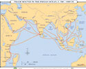 Trade Routes in the Indian Ocean, c. 500-1532 CE