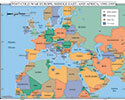 Post-Cold War Eur., Mid-East, and Africa, 1970-1995