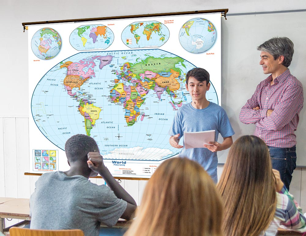 41 World Maps That Deserve A Space On Your Wall World Maps Online