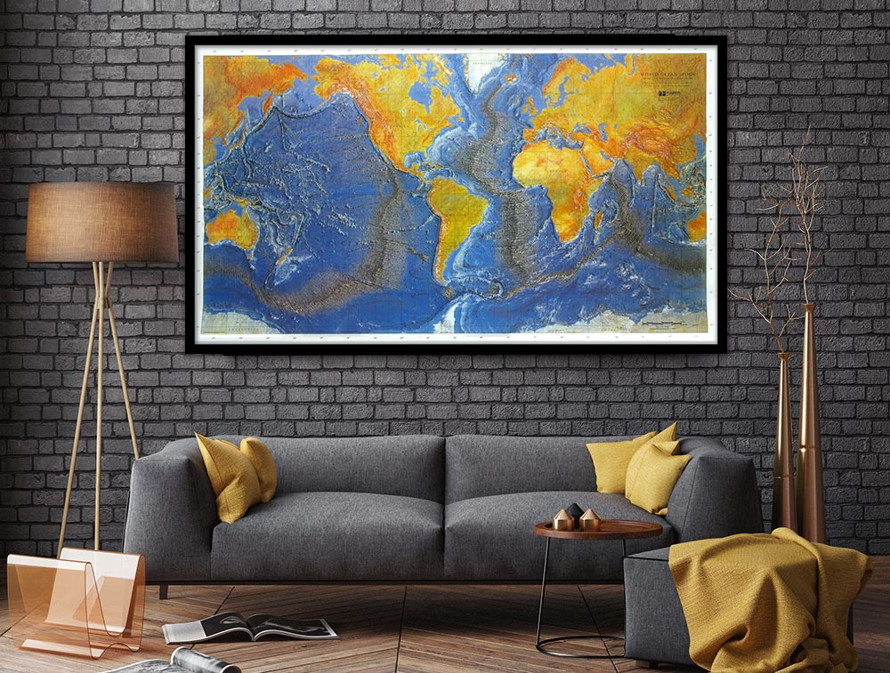 Maps that Deserve a Space on Your Wall